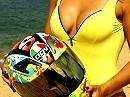 Motorrad Traumfrau All-in-One: CrisR1: Burnt, wheelt, schnell, kringelt, sieht geil - kochen?!