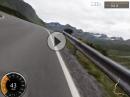 Allgäu, Silvretta mit Kawasaki ZZR 1400 Cam: Garmin Virb Elite