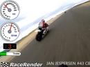 Almeria onboard Team Jan Jespersen #43 Honda CBR1000RR