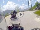 Alpe d'Huez, Frankreich 2016 mit BMW R1200GS