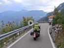 Vom Pass Bordala nach Arco um den Gardasee