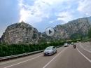 Am Gardasee von Arco zum Bergsturzgebiet Biotopo Marocche di Dro