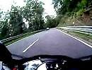 Motorradtour Amorbach, Odenwald flott, aber nicht gerast