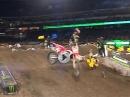 Anaheim (2) 2017: 450SX Highlights Monster Energy Supercross - Roczen stürzt schwer
