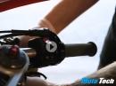 Anbau Lenkerstummel Gilles GP Light 2 an Triumph Daytona 675