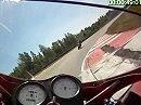 Anderstorp, Schweden onboard Ducati 750SS July 2010