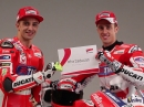 Andrea Dovizioso / Andrea Iannone MotoGP Ducati Fahrervorstellung