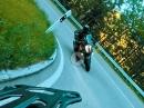 Andrücken im Schwarzwald: Oppenau, Allerheiligen, Ruhestein 120 Kurven mit KTM 1290 Super Adventure. Torqueter und MotoVibes