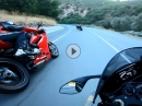 Geil angedrückt: Yamaha R1M - Ducati Panigale 1299S - Aprilia RSV4 RF