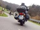 Anfahrt der 125 Rheinland Eifel Biker zum Anlassen Nürburgring 2016
