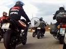 Anlassen 2016 Nürburgring - im Korso mitfahren