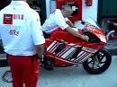 Anlassen: Box Ducati beim MotoGP in Misano 2008 - Boxen aufdrehen ;-)