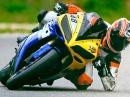Anneau du Rhin Wetter geniessen mit Yamaha R1