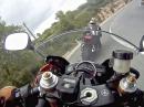 Anreissen auf Zypern Yamaha R6 Vs. Yamaha R1
