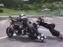 Anschieben, angesprungen = Crash - DAS kann auch nicht jeder ;-)