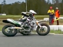 Anthony West - Supermoto-Drift-Training: artgerechte Fortbewegung