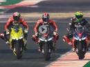 Aprilia RS660 Testride: Aleix Espargaro, Lorenzo Savadori, Bradley Smith