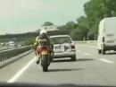 Aprilia RSV 1000 vs. Polizei - Gaskranker unbelehrbarer Holländer