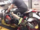 Aprilia RSV4 - 188 RWHP, SC-Project Slip On Dynorun