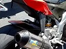 Aprilia RSV4 mit LeoVince Auspuffanlage