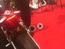 Aprilia RSV4-RF röchelt mit Austin Racing GP1R - MCN London Motorcycle Show