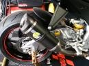 Aprilia RSV4 Tuono mit LeoVince SBK Auspuff - bollern vom Feinsten
