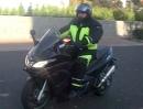 Aprilia SRV 850 mit Leo Vince SBK Auspuffanlage
