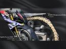 Aprilia Tuono V4 X, kein Kettenschmieren mehr mit BMW M Endurance Kette uvm. Motorrad Nachrichten