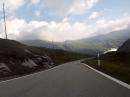 Aprillia Cube 300i St Bernadino Pass Richtung Chur (Schweiz)