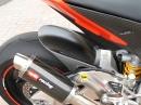 Aprillia RSV4 mit Austin Racing Motogp Exhaust - Sound böse