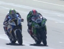 Aragon SBK-WM 2013 Race1 Highlights