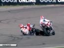 Aragon SBK-WM 2014 Race 1 Highlights - Sykes siegt überlegen