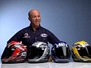 Arai helmets with Randy Mamola