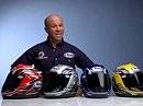 Arai helmets with Randy Mamola