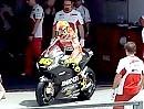 Arbeitstag Valentino Rossi beginnt mit der Ducati Desmosedici GP12 in Sepang