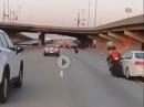 A****loch: Abgedrängt, gerammt und üblen Crash riskiert - Roadrage