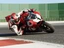 Artgerecht! Ducati Panigale V4 25° Anniversario 916 im Geläuf
