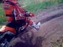Artgerechter KTM Modell Launch 2009 Motocross