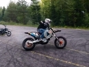 Arttu Stenberg Supermoto Skills: Direction Change Without Clutch Or Brake