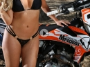 Ashley Twomey TWMX Pinup vs KTM 350 SX-F BikePorn