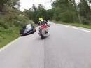 Asphalt-Dilettanten: Porsche Carrera GT vs. Ducati Monster vs. Yamaha R6