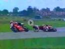 Fogarty vs Chili, Assen 1998 SBK-WM, letzte Runde, geile Battle, genialen Kommentatoren