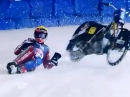 Assen Eisspeedway WM 2014 Speedway Gladiators Hihglights