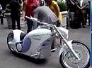 Au Backe ... die Amis haben einen Elektro Chopper gebaut. = 1 Mill. Dollar
