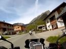 Au Damüls, Vorarlberg, Bregenzerwald mit Moto Guzzi