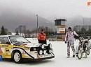 Eisspeedway Motorrad vs Audi Sport Quattro S1 vs. 50PS vs. 503PS
