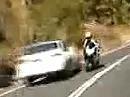 DA hat der Motorradfahrer gepennt: Gegenverkehr, Schutzengel, Pressatmung, Eingenässt