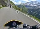 Auffahrt Klausenpass Triumph Speed Triple 955i im Soziamodus