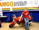 Motorrad aufheben ohne grossen Kraftaufwand