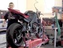 Ausbau des Motors Yamaha R6 YZF-R6 Rj15